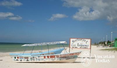 Celestun playa