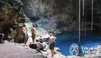 Cenote en Cenotillo