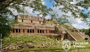 Palacio de Sayil Ruta Puuc Yucatan