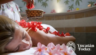 Hacienda Xcanatun spa rosas