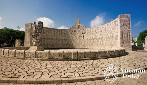 Merida - Monumento a la patria - Dia 2