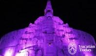 Merida - Monumento a la patria - Noche 1