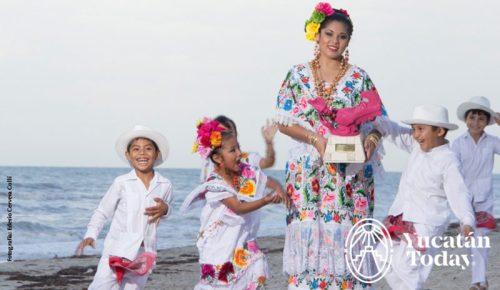 Mundo en un Pueblo Maya telchac