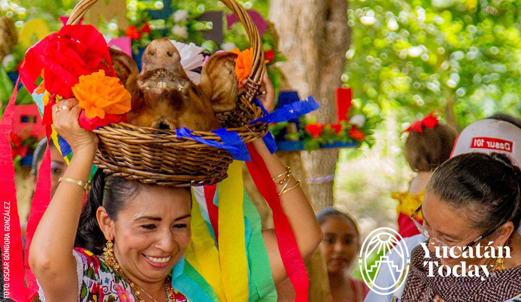 Teatro Maya: Cabeza de Cochino