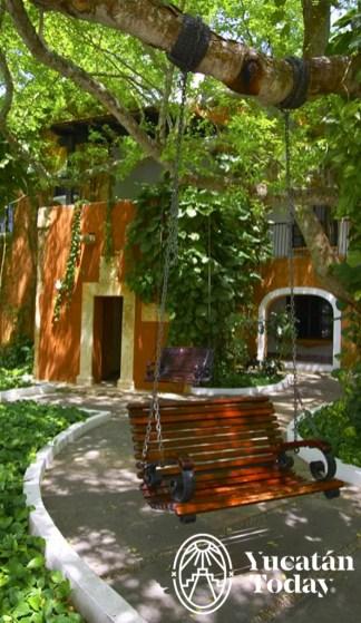 Hacienda Teya columpios