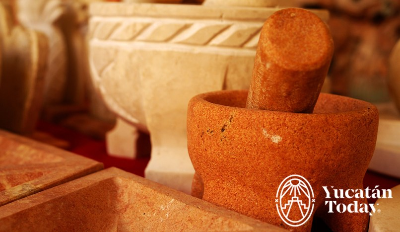 Casa de las Artesanías molcajete piedra