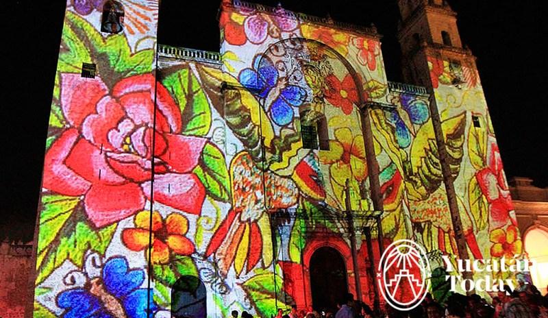 Piedras Sagradas Video Mapping @ Catedral de San Ildelfonso, Mérida | Mérida | Yucatán | México