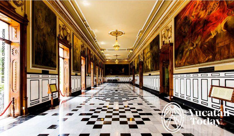 Palacio Gobierno Murales Castro Pacheco