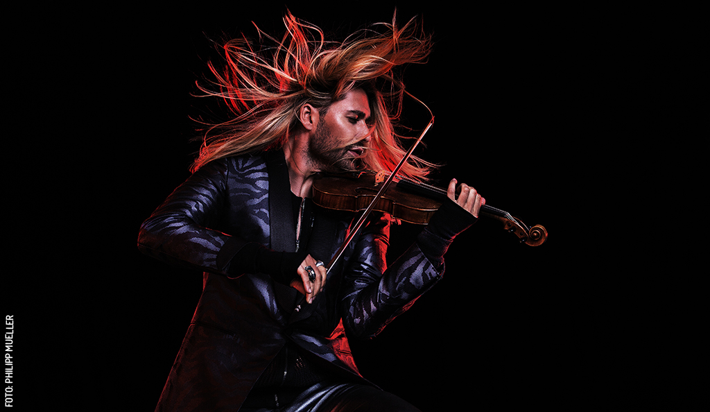 "David Garrett: ""Violinista del Diablo"""