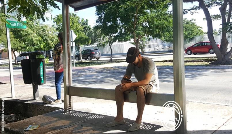 Camion-Autobus-Bus-parada-en-Merida-Yucatan-by-Claudia-Amendola