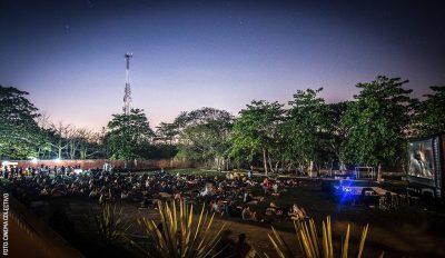 Open Air cinema Cinema Colectivo