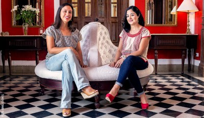 Cristina Arroyavave y Angelica Espinsa Baku Events