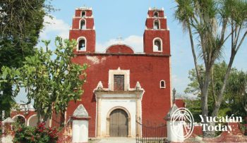 Temax Iglesia Church Yucatan