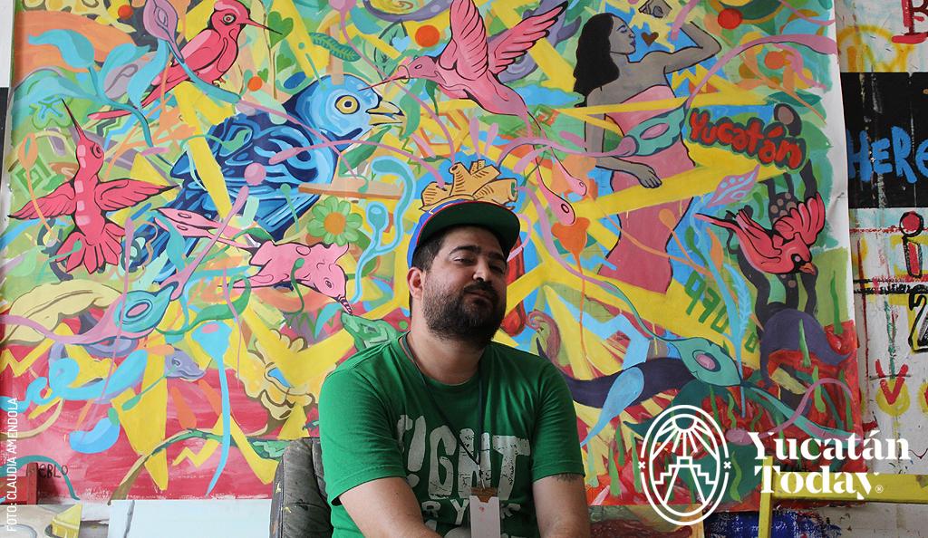 A Great Yucatecan Painter: Juan Pablo Quintal García