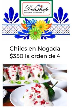 Chiles en Nogada by Delishop