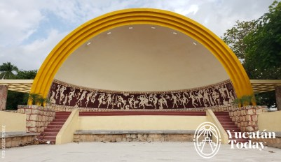 Parque de las Americas concha acustica by Cassie Pearse