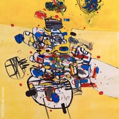 exposición en el cav by el artista