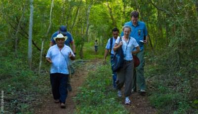 milpa recorrido ek balam caminata guias by coox mayab
