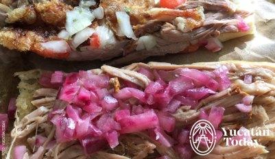 2017 Cochinita y Lechon torta 5 by Yucatán Today