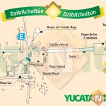 Dzibilchaltun Map