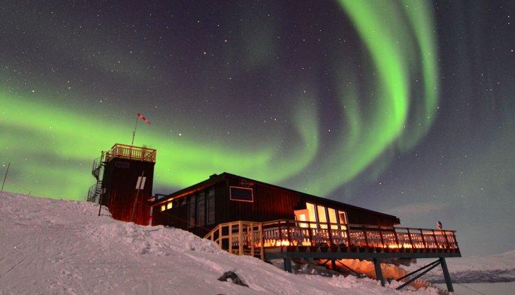 Amazing Aurora Sky In Abisko Sky Station