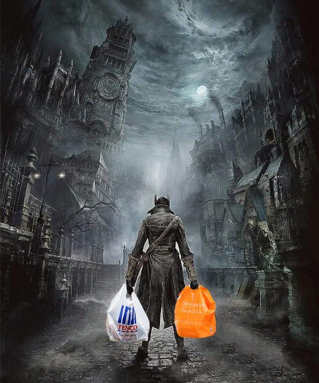 what it feels like to go grocery shopping these days