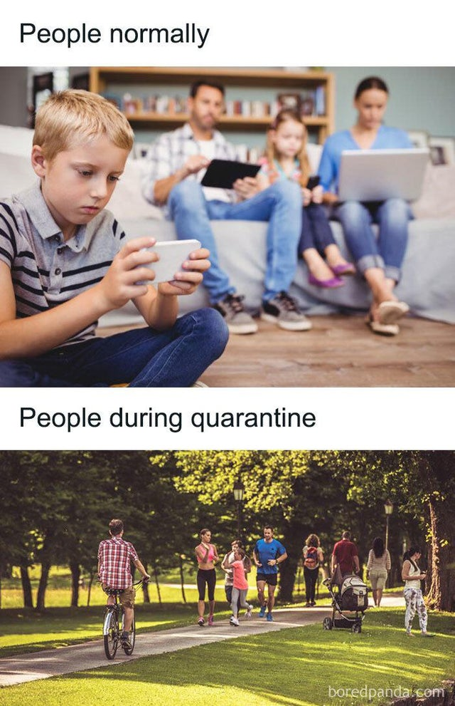 People then vs now