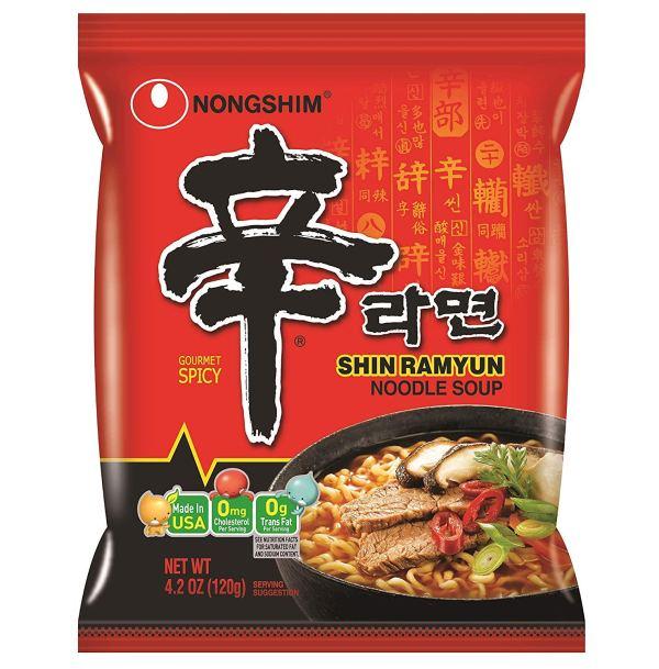 Nongshim Shin Ramyun Noodles Gourmet Spicy