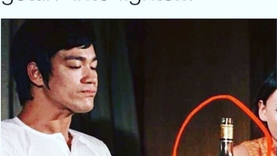 No wonder Bruce Lee was always getting into fights - Hennessy