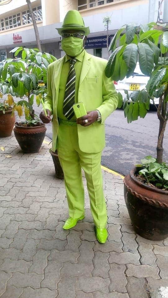 Lemon Lime Skittles Suit