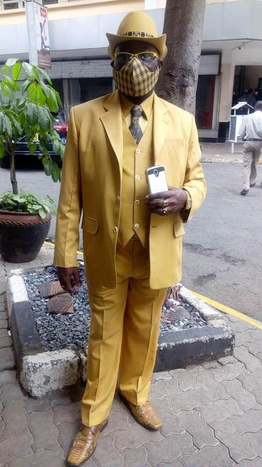 Yellow Rainbow Skittles Suit