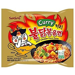 Samyang - Hot Curry Chicken Flavor Ramen Noodle