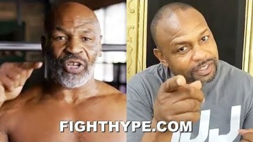 MIKE TYSON VS. ROY JONES JR. SET FOR 8-ROUND EXHIBITION
