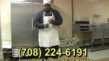 Jones' Good Ass BBQ & Foot Massage - The Original Commercial