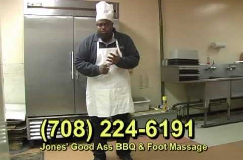 Jones' Good Ass BBQ & Foot Massage - The Original Commercial