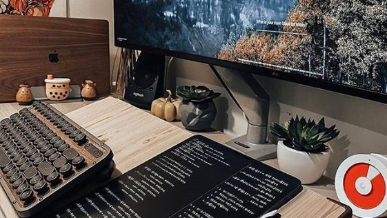 Nature and Organic Inspired Game Computer Workstation
