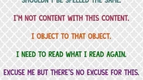 Heteronyms that Make the English Language Crazy Hard to Grasp