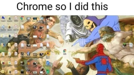 When you can't find Google Chrome Icon on your computer