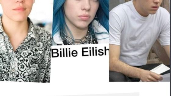 Billie Eilish Looks Like Carl From Shameless?