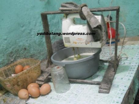 alat pegangan mixer adonan roti