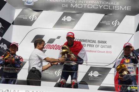 Andi Gilang Qatar podium 1