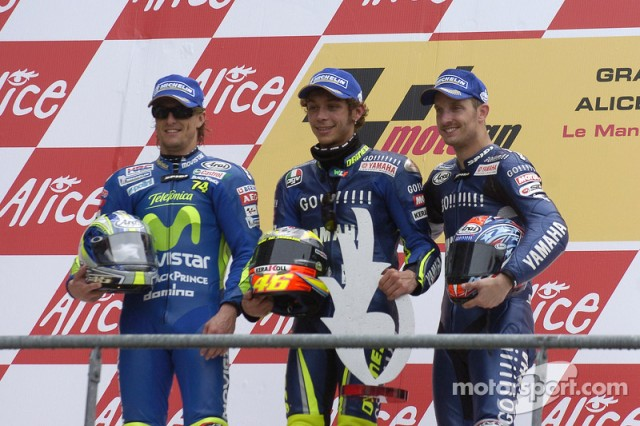 Rossi Le mans 2005
