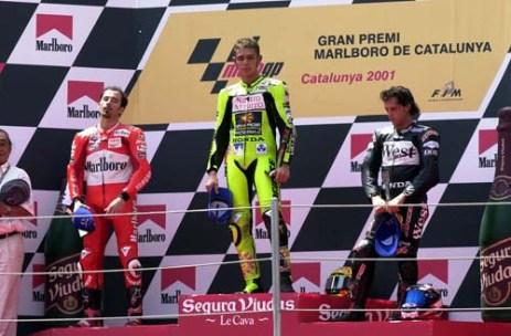 Rossi Catalunya 2001