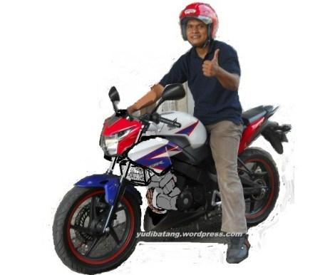 All New Honda CB 150 R otak-atik yudibatang
