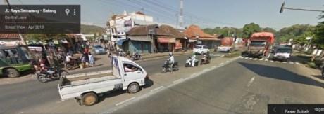 jalan pantura pasar subah batang Jawa tengah