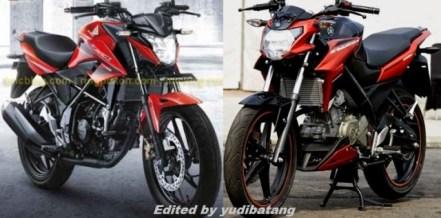Honda CB150R vs Yamaha NVA