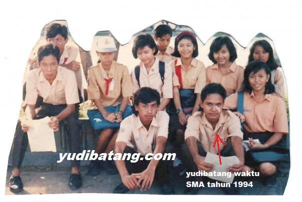 yudibatang bersama teman-teman SMA N1 Slawi