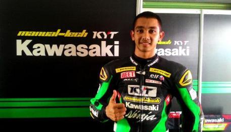 yudistira pembalap Indonesia.1jpg