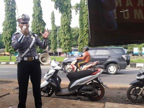 polisi batang menginformasikan akan ada razia polisi