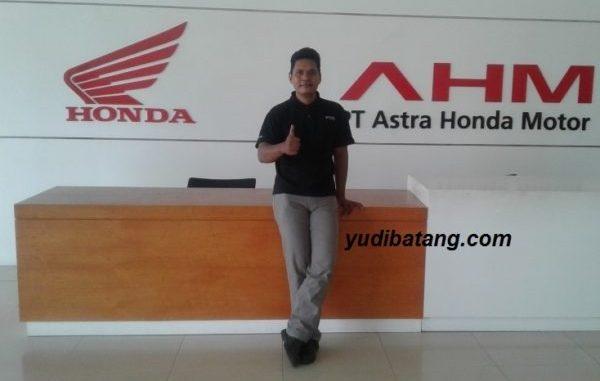 pabrik perakitan sepeda motor Honda